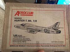 Aeroclub 1/48 Hawker Hunter T.MK 7/8 Mixed Media Kit - Limited Production