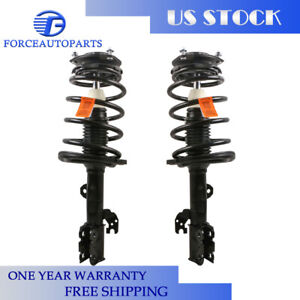 FCS Front Rear Strut Coil Spring Assemblies Kit For Toyota Avalon 3.5L FWD 13-15