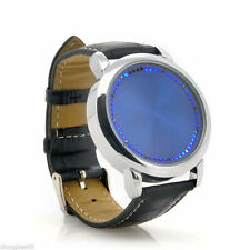 Unbranded Stainless Steel Case Digital Round Wristwatches