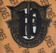 """10th Special Forces Group Airborne SFGA ODA DUI crest 3"""" patch C"""