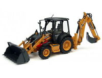 1/50 Scale Case 580 ST Backhoe Loader Diecast Model by Universal Hobbies UH8079