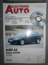Audi A3 1.6 FSi depuis 2005 : Revue technique Autovolt 851 +CD