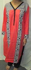 printed new design beautiful cotton  salwar kameez Size XL 44