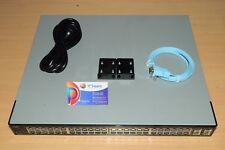 Cisco SGE2010P-AU Managed Switch 48 Port Gigabit PoE+ 4SFP Light w/ Rack 6MthWty