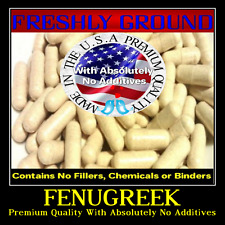FENUGREEK With Absolutely No Additives Extra High Potency 100 Vegetarian Capsule