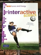 New! Interactive Science Forces and Energy Middle School Workbook Pearson Book