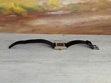 Vintage CARTIER must de Cartier Tank 18K Gold Electroplated Women's Watch