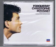 FORQUERAY  BOX SET 2 CDs (NEW) WORKS FOR HARPSICHORD Christophe ROUSSET