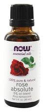 Rose Absolute 5% Essential Oil 1oz. Bottle For Diffusers & Burners