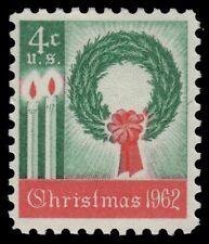 "UNITED STATES 1205 - Christmas ""Wreath and Candles"" (pa69187)"