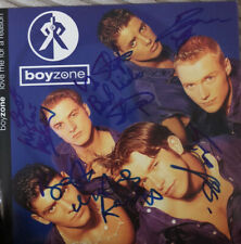More details for boyzone   **hand signed**  love me for a reason vinyl  ~  autographed