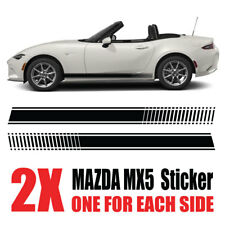 Mazda MX5 Graphics Eunos Roadster mk1 mk2  stripes Decals Stickers mz1