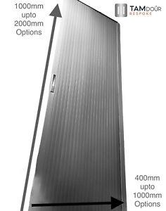 Tambour Sliding Door Kit options for a 200cm Tall Camper Van Kitchen Shower