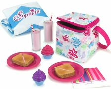 """12 Piece Lunch Picnic works for 18"""" American Girl Dolls Food Accessories"""