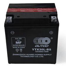 YTX30L-BS 12V 28Ah High Performance Maintenance Free AGM Motorcycle Battery