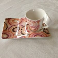 VILLEROY & BOCH Mombasa New Wave Limited Edition demitasse cup and saucer