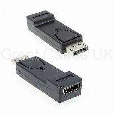Display Port DP maschio a HDMI Femmina Adattatore Convertitore Video Adattatore Per HDTV PC 1080p