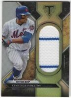 2017 Topps Triple Threads Silver CURTIS GRANDERSON Jersey Relic 24/27 Variation
