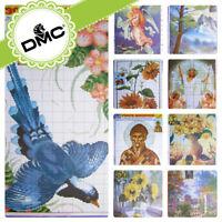 UZ-32 Cross stitch Religious Flowers Landscape Patterns - Embroidery DMC