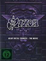 SAXON - HEAVY METAL THUNDER - THE MOVIE - 2 DVD - NEW+!!
