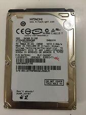 "Hard Disk 2,5"" HITACHI 160 GB SATA 3.0GB/s 5400RPMV  HTS545016B9A300"