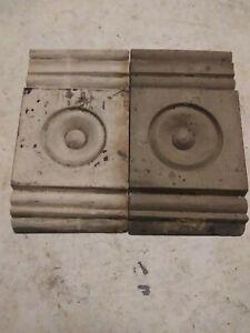 Antique Crown Molding Door Trim set of 2