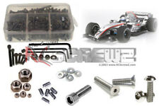 RC Screwz Metal Shielded Bearing Kit for Tamiya F104 Pro #tam127b