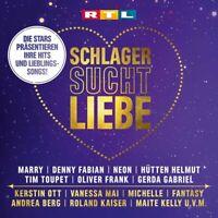 Schlager Sucht Liebe Doppel-CD NEU OVP