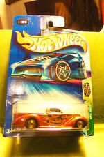 Hot Wheels Treasure Hunt Super Smooth Red / Silver Truck w/Flames 2004 +