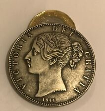 Restrike Victoria one Crown full 1845 1847 1844 1839 silver plated Queen