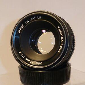 YASHICA DSB 50mm F1.9 PRIME STANDARD LENS , CONTAX/YASHICA 35mm FILM SLR FIT .