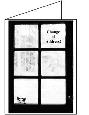 MOVING ANNOUNCEMENT-Set of 10-Change of address Greeting Card I've Moved 4519CAS