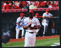 Torii Hunter Los Angeles Angels Baseball Autographed Signed 8x10 Color Photo