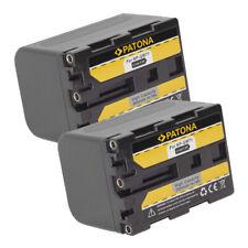 2x Batteria Patona 2600mAh per Sony DCR-PC120BT,DCR-PC330,DCR-PC9,DCR-PC9E