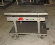 Industrial Adjustable Height Table ZPS 170 130 Die Setup Switcher