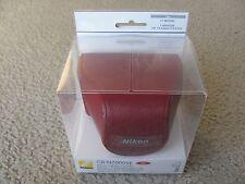Nikon CB-N2000SE Red Leather Body Case Kit for Nikon 1 J1 & Nikon 1 J2 Model