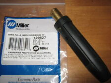 ITEM 665-Miller Dinse Connector Welder Mig Tig Insulated Male