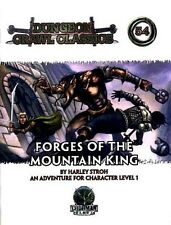Forges Of The Mountain King Nm! D&D Module Dcc #54 Dungeon Crawl Classics D&D