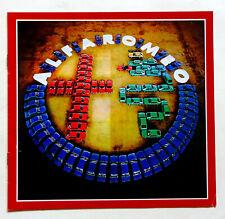 catalogue  publicité ALFA ROMEO  automobilia