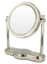 "ClearView 8"" Doble Cara con luz LED 1x 5x MagnifyingTabletop HD Redondo Espejo"