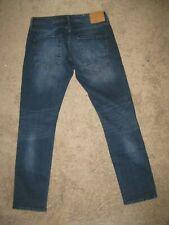 "Jack Jones Men's Straight Leg Jeans W 34""  Dark Wash Slim Fit Tim"