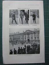1917 WWI WW1 PRINT  JOSEPH DEVLIN MCDONNELL ~ DUNRAVEN TRINITY COLLEGE DUBLIN