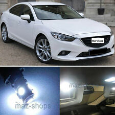 13Pcs Premium Xenon White LED Lights Interior Package Kit for 2013-2017 Mazda 6
