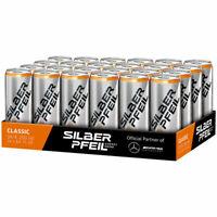 Silber Pfeil Classic Energy Drink 24x0.25l Ds. Einweg Pfand