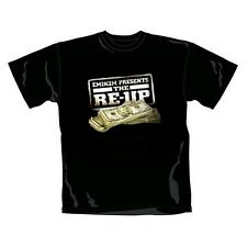 Unworn Rare Bravado Offic. EMINEM Present the RE-UP Rap Dollar Money T-Shirt XL