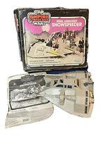 Star Wars ESB 1980 Kenner Rebel armored Snowspeeder original box manual 39610