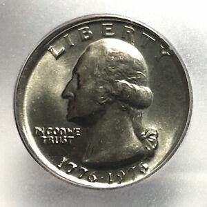Broadstruck 1976 Washington Quarter Gem MS65 Off Center Mint Error