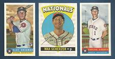 2017 ARCHIVES NATIONALS MAX SCHERZER RETRO ORIGINALS INSERT CARD #RO-17