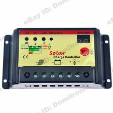 PWM Solar Charge Controller 10A Battery Regulator 12V/24V ST Light&Timer Charger