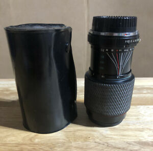 Tokina Zoom Lens SD 70-210mm f1.4-5.6 for Minolta MD Mount - With Case